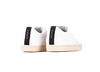 Chaussure semelle pneu recyclé cuir recyclé blanc - graviere - O.T.A - 3