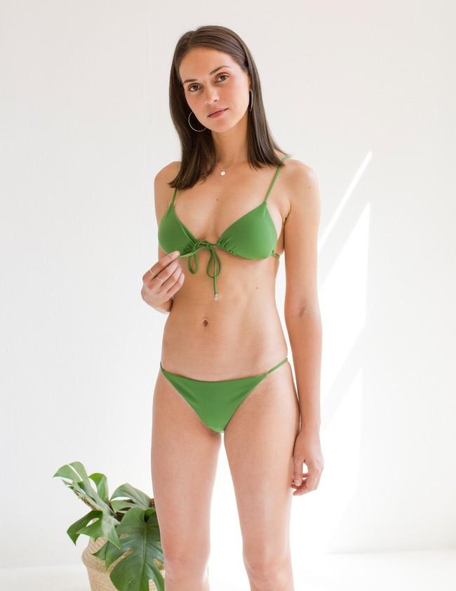 Haut de bikini en nylon recyclé - bamboo - Reset Priority num 2