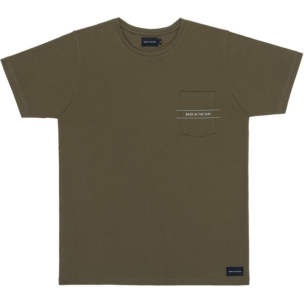 T-shirt en coton bio avocado bask - Bask in the Sun