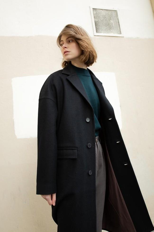 Manteau genoa laine & cachemire - Noyoco num 22
