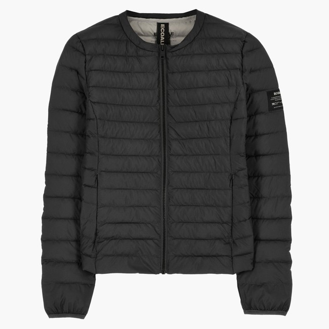 Doudoune noire matelassée - usuahia jacket - Ecoalf num 3
