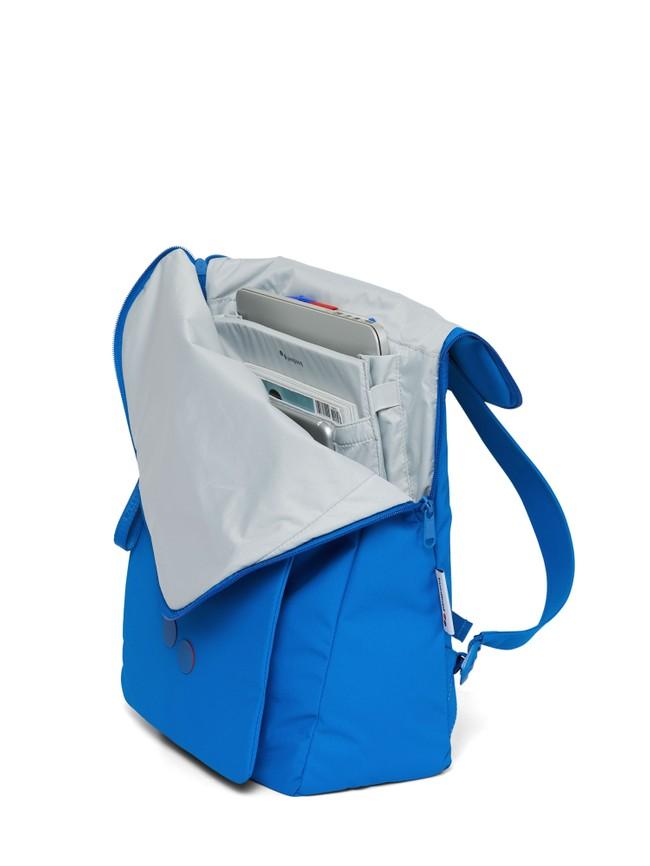 Sac à dos bleu recyclé - klak - pinqponq num 4