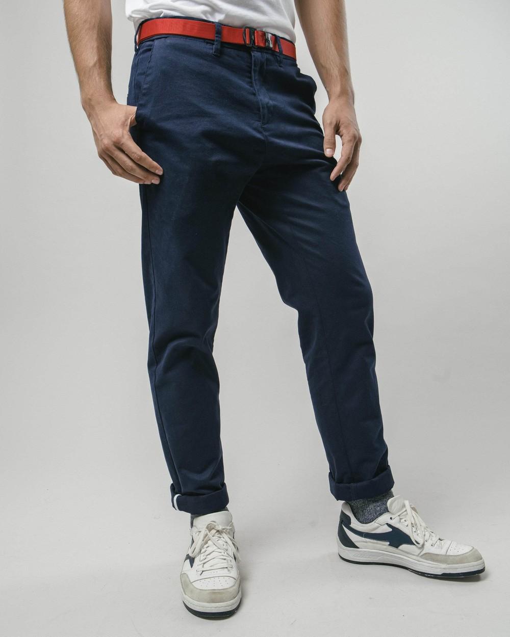 Sumo boy navy chino pants - Brava Fabrics