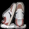 Chaussure en glencoe cuir blanc / suède flamingo - O.T.A - 2