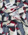 Crane for luck aloha blouse - Brava Fabrics - 3
