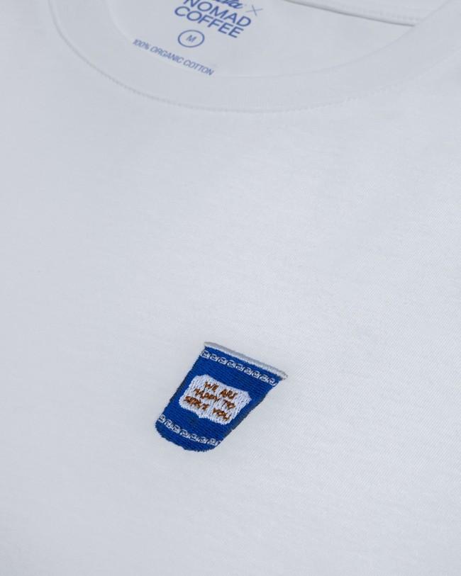Nomad coffee x brava t-shirt - Brava Fabrics num 2