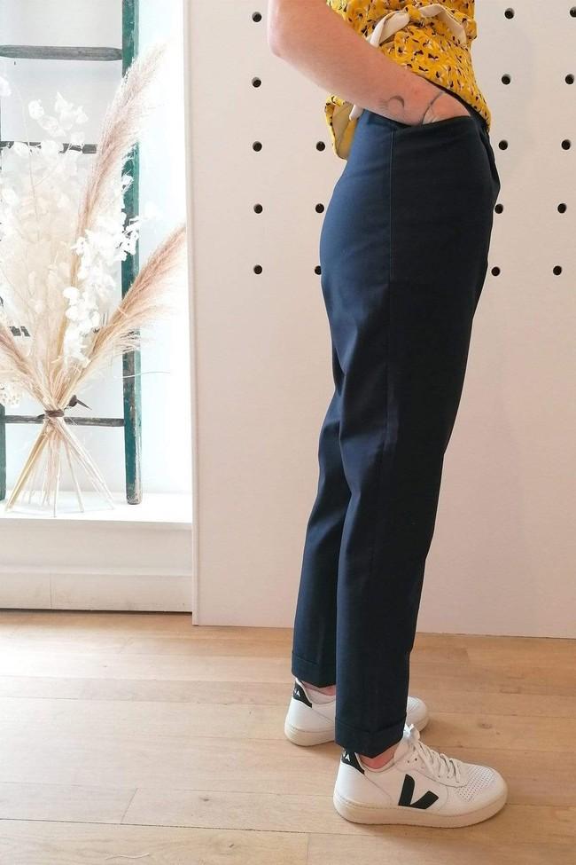 Pantalon kipants dress blue - Les Récupérables num 1