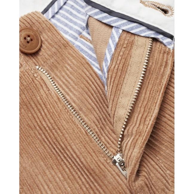 Chino velours marron en coton bio - Knowledge Cotton Apparel num 2