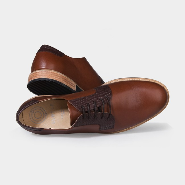 Derbies alpha low - camel - Subtle num 2