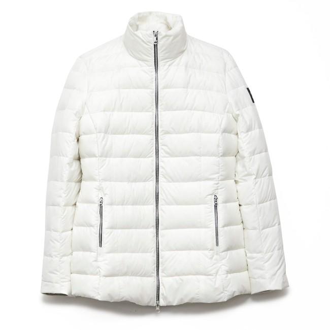 Doudoune blanche en polyester recyclé - new kily - Ecoalf num 3