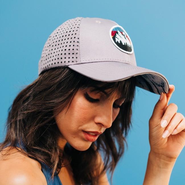 Wild cap - casquette technique recyclée [grey sunset] - Nosc num 1