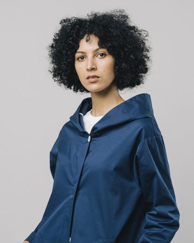 Hooded parka blue - Brava Fabrics num 3