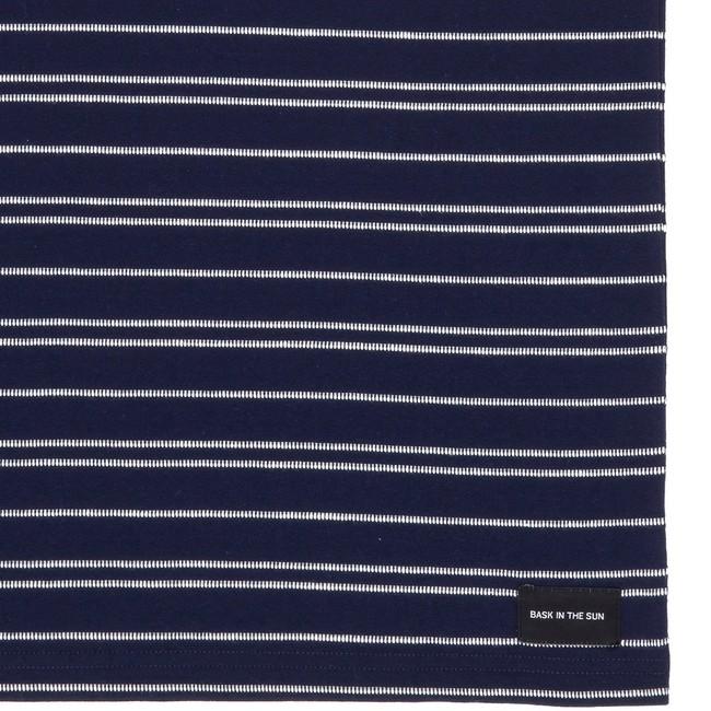 T-shirt en coton bio navy akox - Bask in the Sun num 3