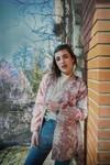 Kimono kantic lurex tomette - Les Récupérables - 2