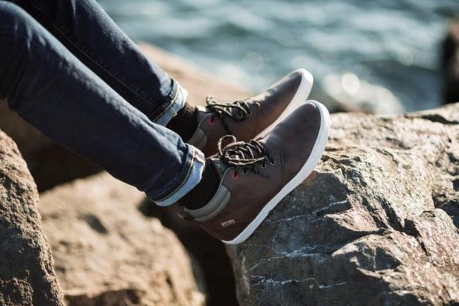 Chaussures recyclées niseko brown - Saola num 1