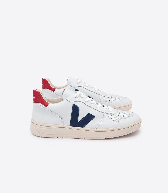 Baskets v-10 white nautico pekin - Veja