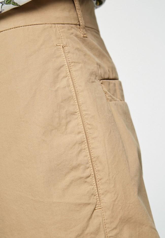Chino ample beige en coton bio - taadeo - Armedangels num 2