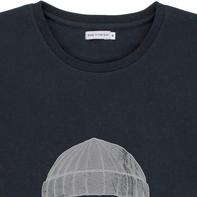 T-shirt en coton bio black to the sea - Bask in the Sun num 2