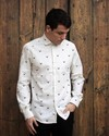 Copenhagen deer printed shirt - Brava Fabrics - 5