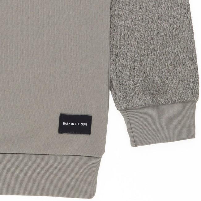 Sweat en coton bio grey danel - Bask in the Sun num 3