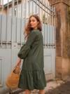 Robe verte - Maison Alfa - 2