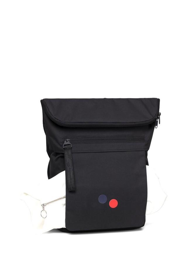 Sac à dos noir en plastique recyclé - klak - pinqponq num 3
