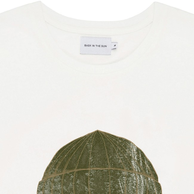 T-shirt en coton bio natural to the sea - Bask in the Sun num 1