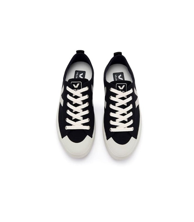 Baskets nova canvas black pierre - Veja num 1