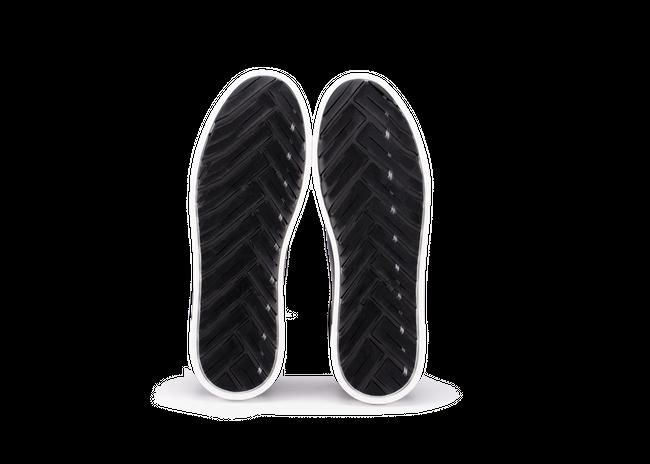 Chaussure en gravière cuir marine / semelle blanc - Oth num 4