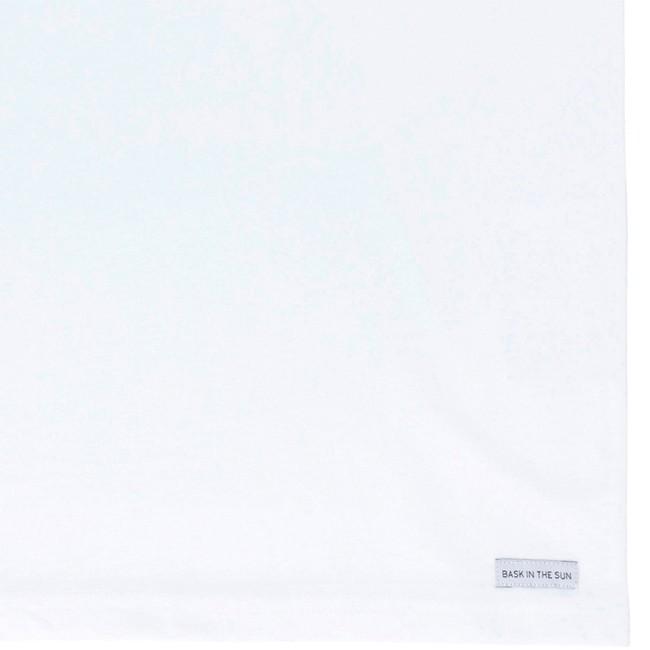 T-shirt en coton bio white ellen - Bask in the Sun num 3