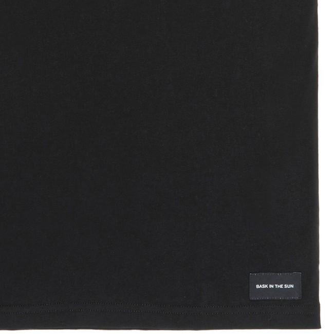 T-shirt en coton bio black wine me - Bask in the Sun num 3