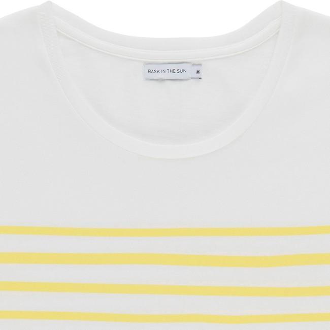 T-shirt en coton bio yellow esperanza - Bask in the Sun num 1