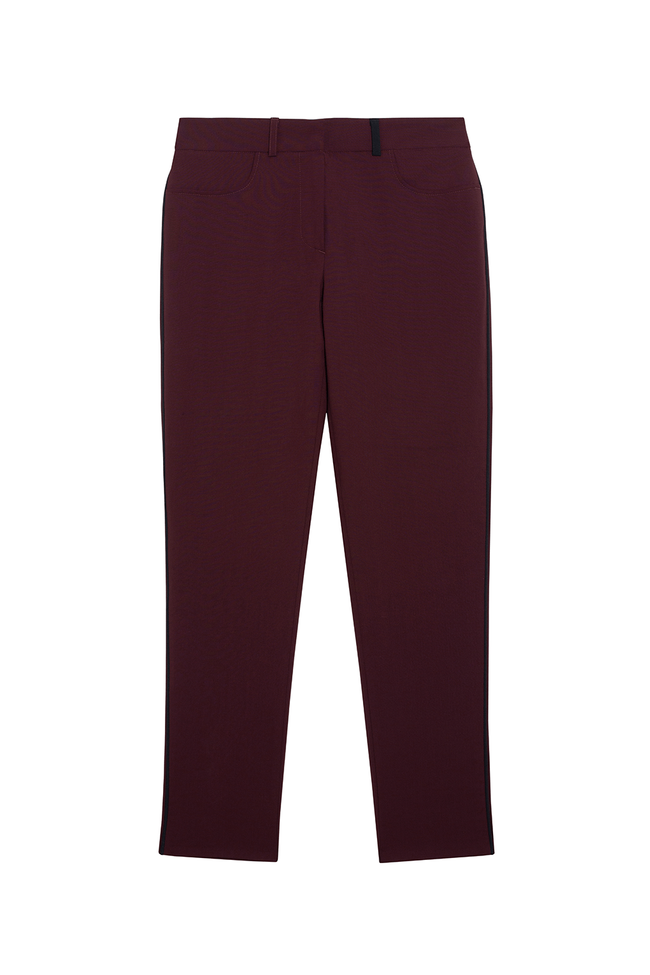 Pantalon tailleur new-york prune - 17h10 num 4