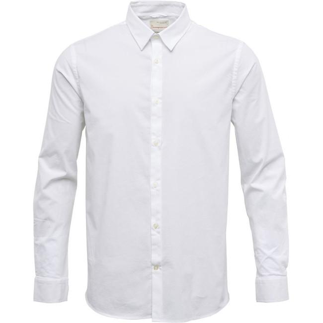 Chemise blanche en coton bio - Knowledge Cotton Apparel