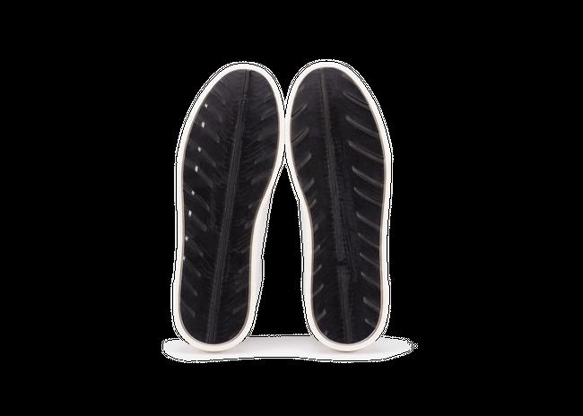Chaussure en gravière cuir blanc / semelle off-white - Oth num 4