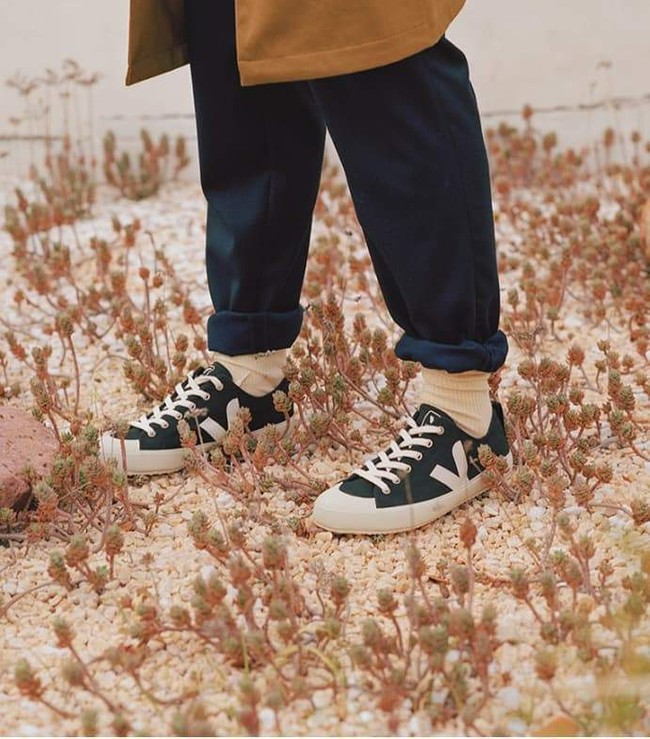 Baskets nova canvas black pierre - Veja num 3