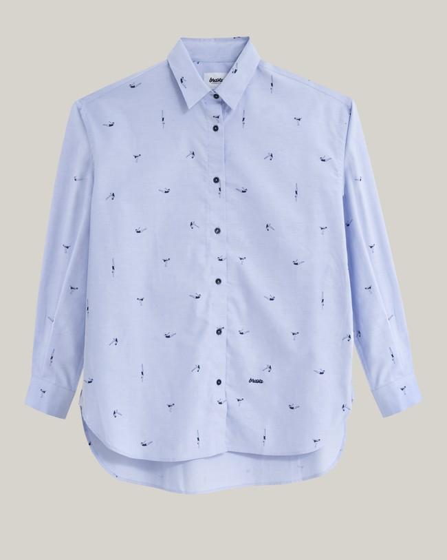 Vintage swimmer oversized blouse - Brava Fabrics num 1