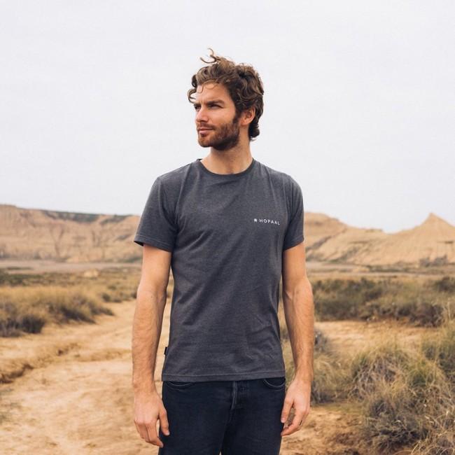 T-shirt recyclé - édition granite - Hopaal num 1