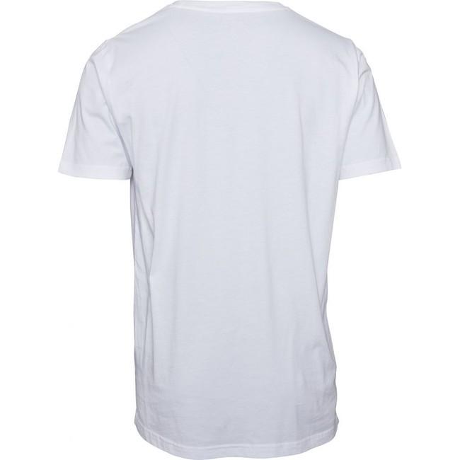 T-shirt imprimé blanc en coton bio - square logo - Knowledge Cotton Apparel num 1