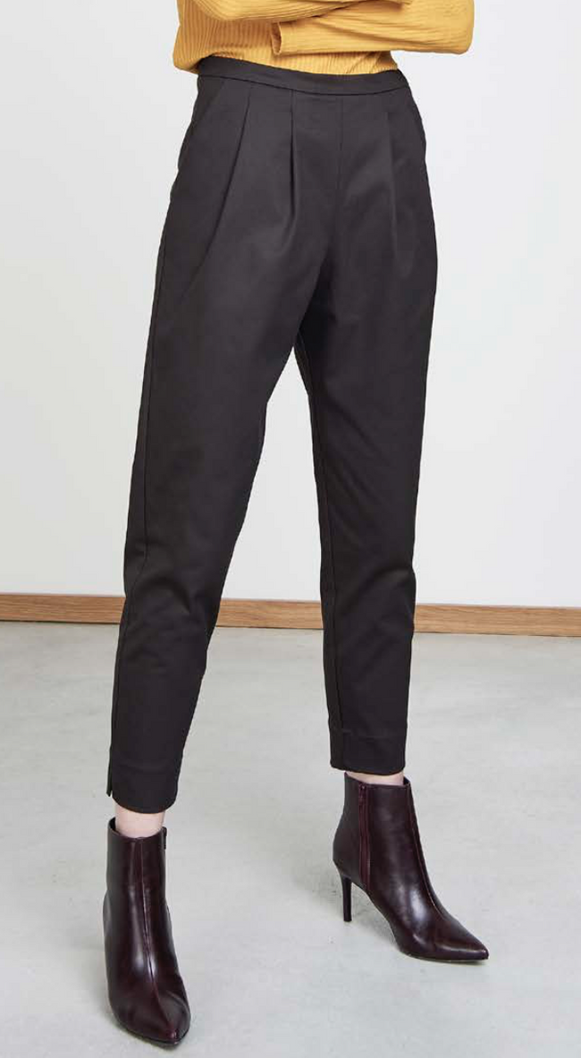 Pantalon à pinces noir - page - Jan'n June