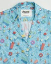 Swimming pool aloha shirt - Brava Fabrics