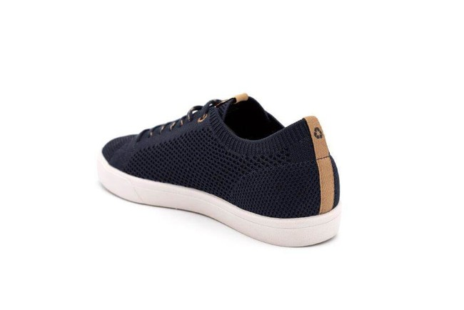 Chaussures recyclées cannon knit navy - Saola num 2