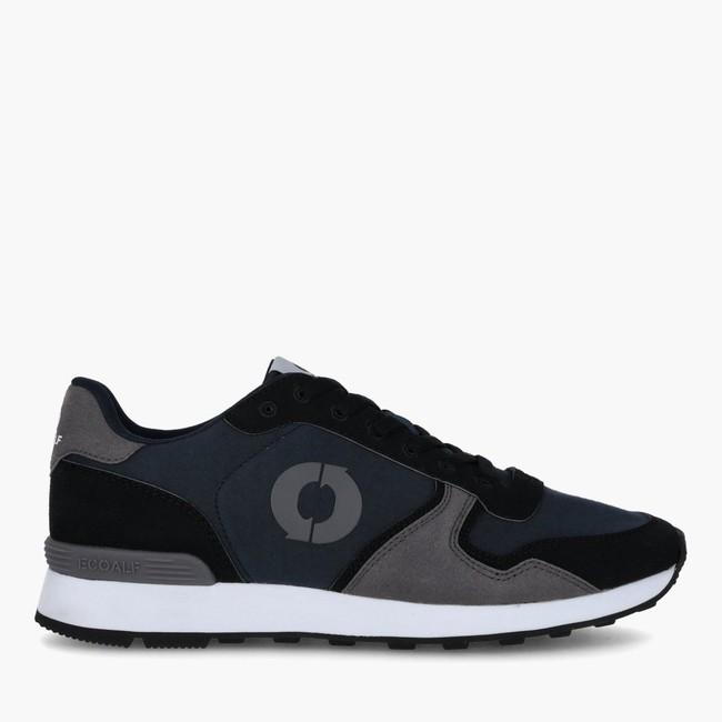 Baskets marine et grises - yale sneakers - Ecoalf