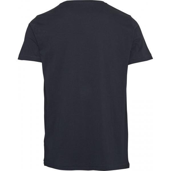 T-shirt bleu nuit en coton bio - Knowledge Cotton Apparel num 1