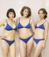Soutien-gorge lena bleu en coton bio - Olly - 6