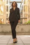 Pantalon tailleur new-york marron - 17h10 - 7