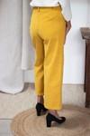 L'incomparable - pantalon large en velours côtelé jaune - C. Bergamia - 2