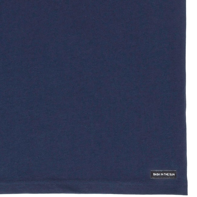 T-shirt en coton bio navy flipgirl - Bask in the Sun num 3
