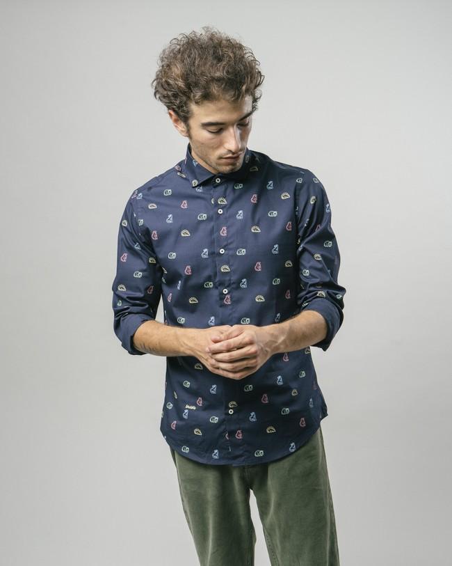 Dinosaurus cookies printed shirt - Brava Fabrics