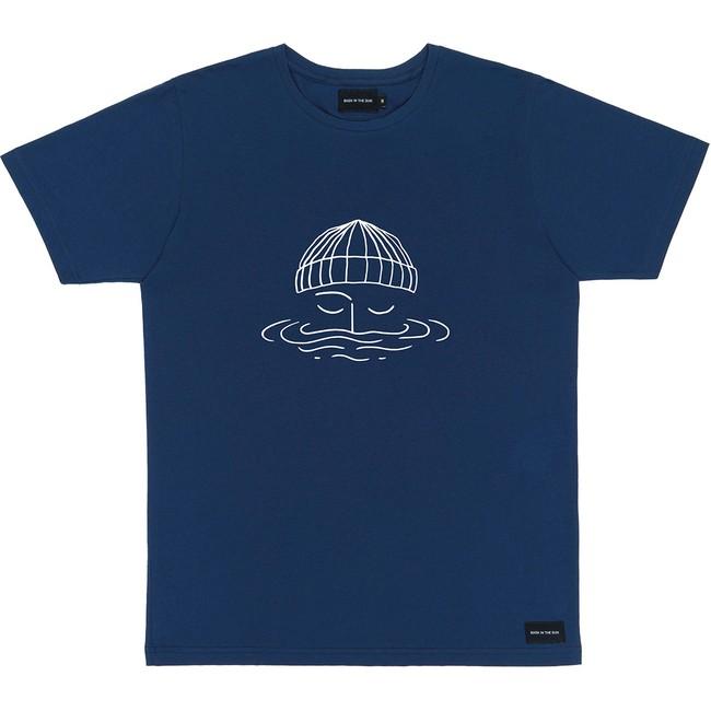 T-shirt en coton bio night blue sailor - Bask in the Sun